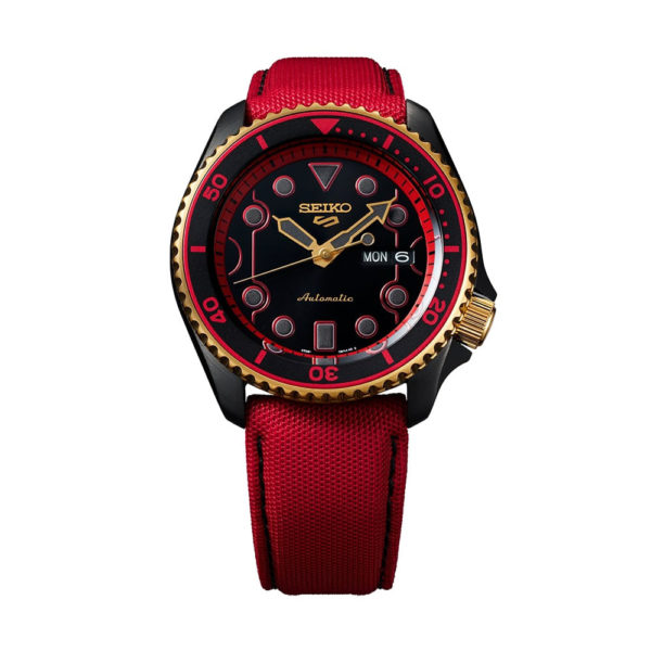 Montre KEN – Seiko x Street Fighter