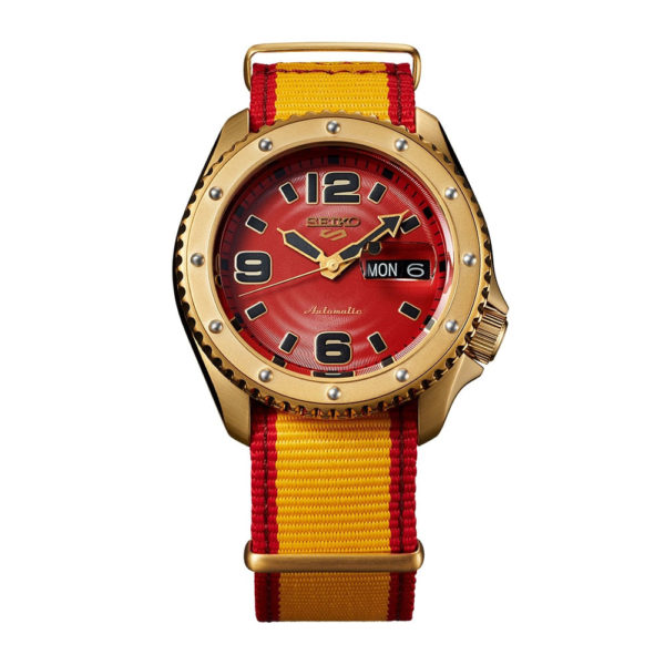 Montre ZANGIEF – Seiko x Street Fighter
