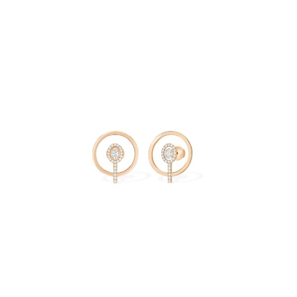 Boucles d'Oreilles Glam'Azone Graphic XS – Messika